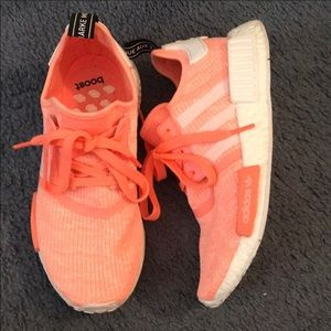 Adidas NMD size 8 (Coral)